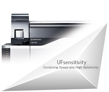Shimadzu Ultra Fast Mass Spectrometry Technologie UFsensitivity für das TQ MS Tandem-MS Triple Quad LCMSMS Massenspektrometer LCMS-8050