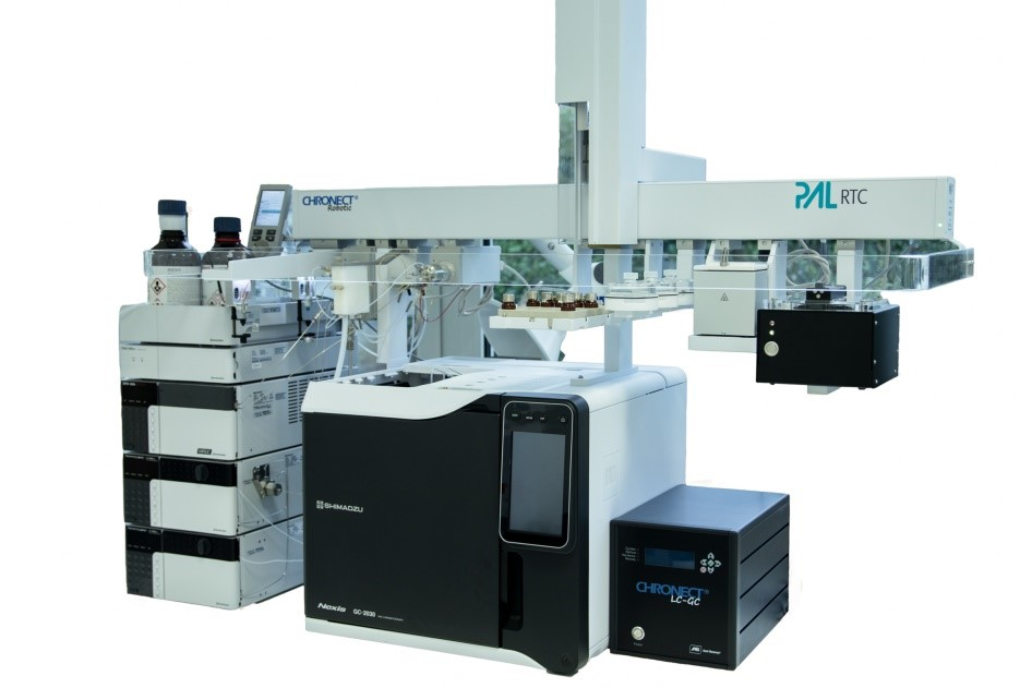 MOSH/MOAH-анализатор на основе многомерной ЖХ/ГХ системы
