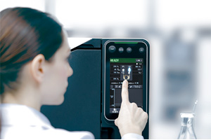 Der Shiamdzu GC-2030 mit intuitiven Touch Panel-Interface - Der neue Industriestandard in der Gaschromatographie